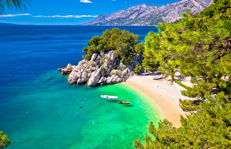 Most Beautiful Places in Croatia: Punta Rata beach, Brela
