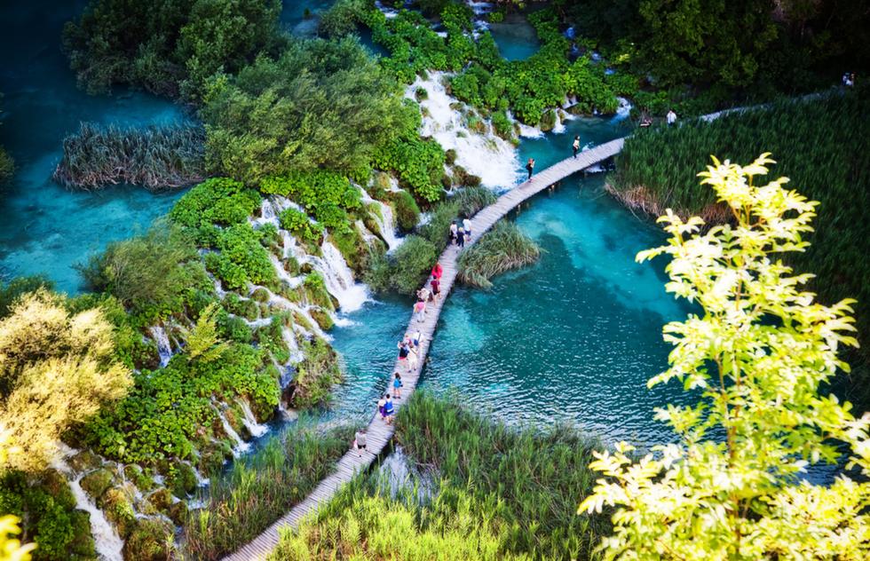 Most Beautiful Places in Croatia: Plitvice Lakes National Park