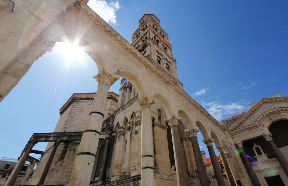 Most Beautiful Places in Croatia: Diocletian's Palace, Split