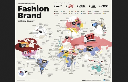 The Most Popular Fast Food and Fashion Chains in Each Country | Frommer's