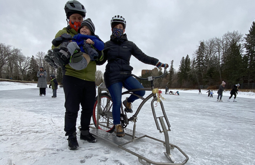 In Canada, Bikes on Ice Skates Are a Thing Now | Frommer's