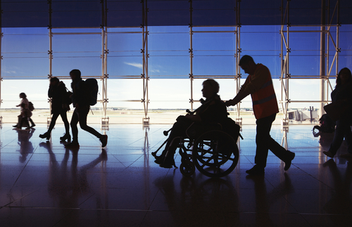 How Travelers with Disabilities Can Get Special Equipment for Air Travel—for Free | Frommer's