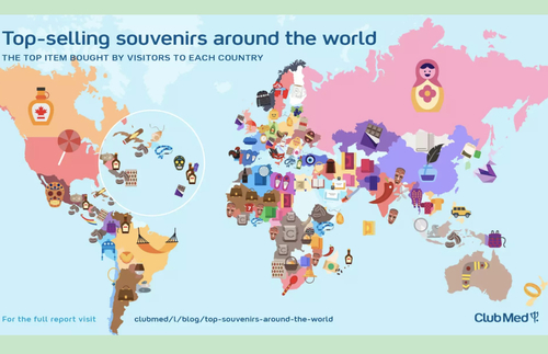 MAPS: Learn the Most Popular Tourist Souvenir In Countries Around the World | Frommer's