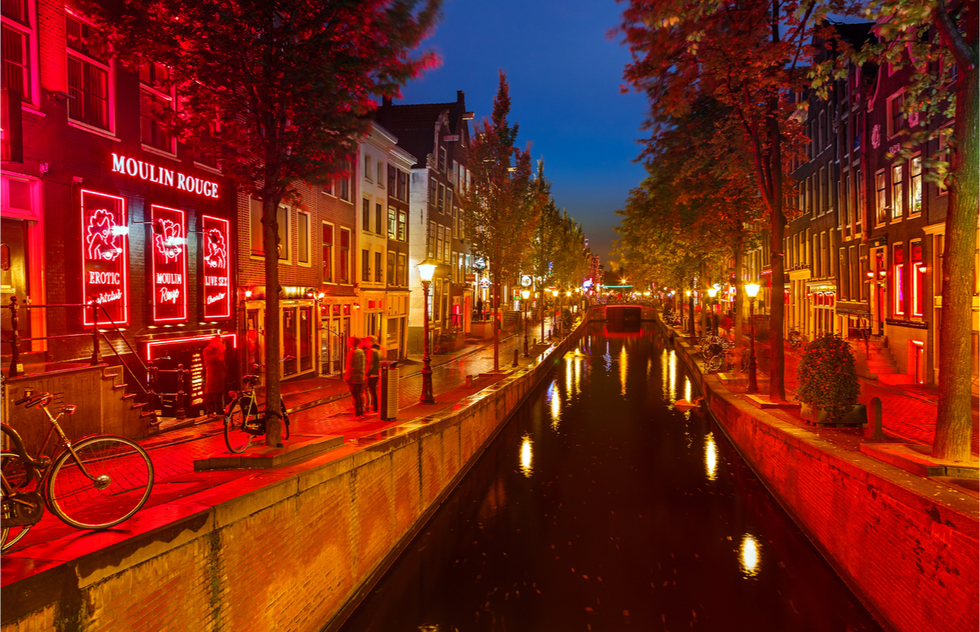 Amsterdam to Move Red-Light District and Restrict Cannabis Cafes  | Frommer's