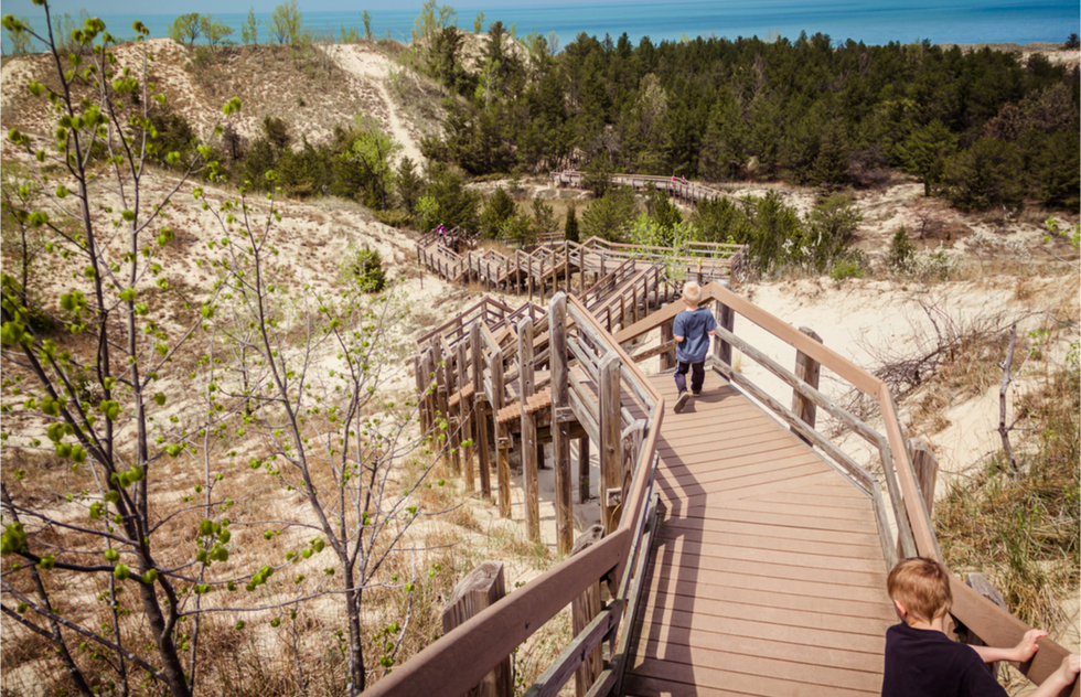 Which National Parks to see in June, July, August, and September: Indiana Dunes National Park