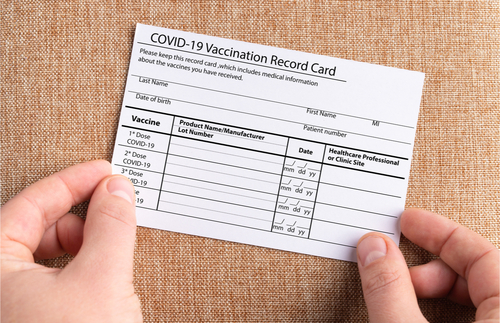Staples Will Laminate Your Covid-19 Vaccination Card for Free Until May 1 | Frommer's