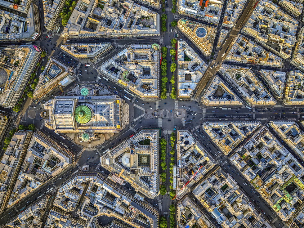 Paris: From the Air (Rizzoli): Place de l'Opéra
