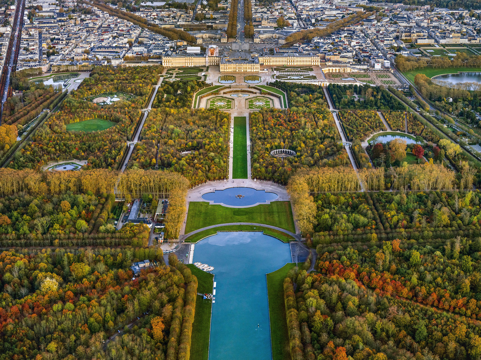 Paris: From the Air (Rizzoli): Palace of Versailles