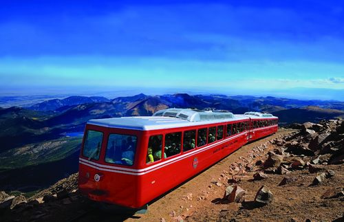 The Sightseeing Train to the Spectacular Summit of Pikes Peak Is Back on Track | Frommer's