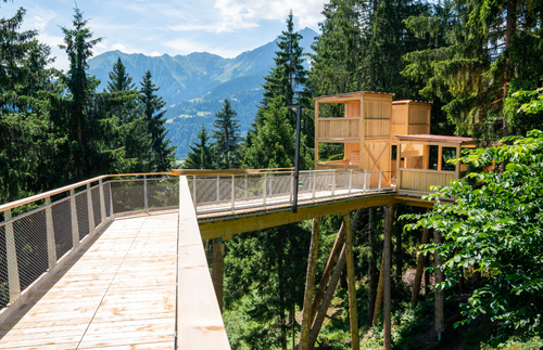 World's Longest Treetop Walkway Shows Off Uplifting Views of Swiss Alps   Frommer's