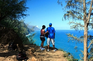 Explore isolated Na Pali Coast State Park