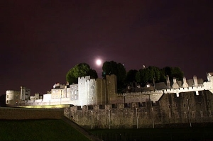 Tower of London at Night.