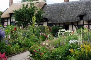 Home of Anne Hathaway in Stratford-Upon-Avon, England