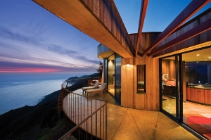 Upper Pacific Suite Deck at Post Ranch Inn, Big Sur. Photo: Kodiak Greenwood/Post Ranch Inn