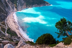 Kefalonia Island, the picture of a Greek island.