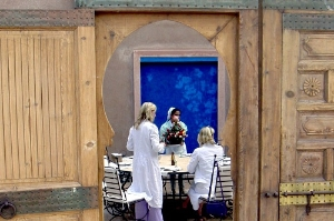 A glimpse into the facility at Rhode School of Cuisine, Marrakech. Photo: Courtesy Rhode School of Cuisine