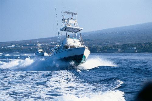 Sportsfishing Boat, Hawaii's Big Island