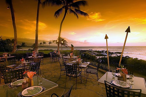 Hilton Waikoloa Village along the Kohala Coast, Hawaii.