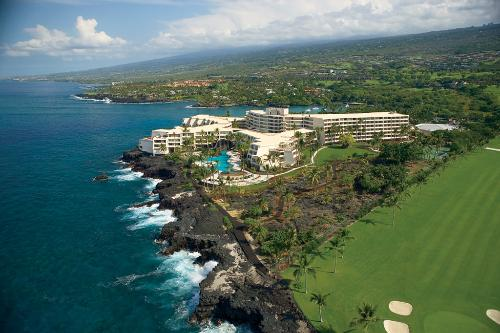 Sheraton Kona Keauhou Bay Resort is in the historical Keauhou district of the Big Island.