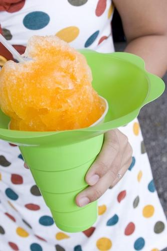 There's nothing like slurping up a cool cone of shave ice on a hot day.