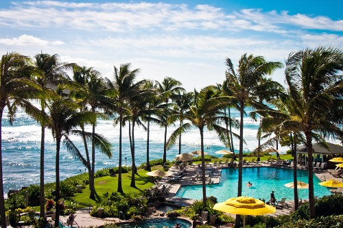 Turtle Bay Resort, Oahu.