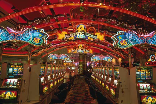 The casino at the MGM Grand is arguably the largest in the world-you'll get lost at least once.