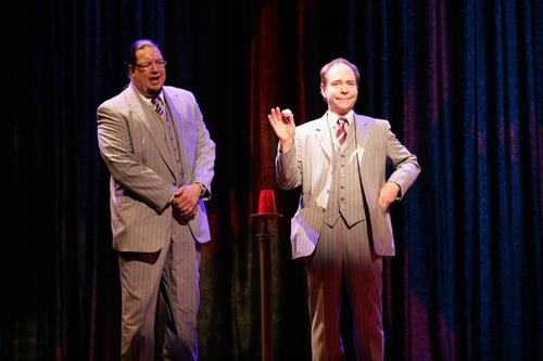 The famous magical duo of Penn & Teller show off their skills and sense of humor at the Rio.