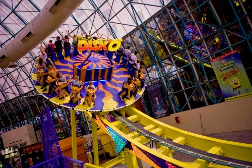 Disk O At The Adventuredome Theme Park Circus Las Vegas Courtesy Of Most Family Friendly Hotel