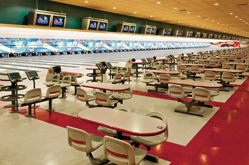 Bowling Alley at the Orleans, Las Vegas.