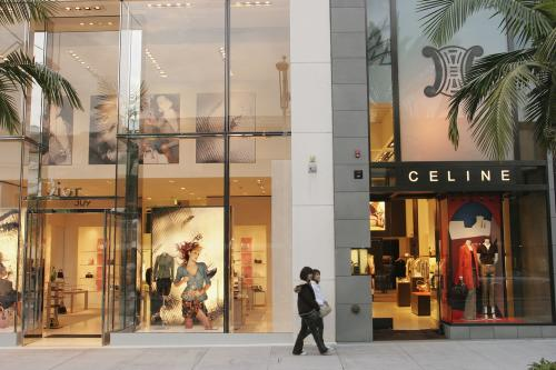 Celine on Rodeo Drive.