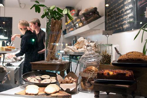 Forage, a Los Angeles eatery that offers simple dishes made from local produce. Courtesy Forage