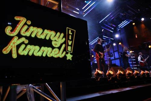 "Muscial guest Paul Weller on ""Jimmy Kimmel Live."" Photo by: Adam Larkey/ABC"