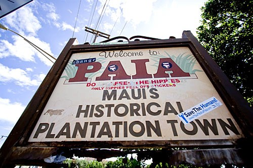 A former sugar mill town, Paia was once the North Shore's industrial center. Today it's a windsurfing mecca and counterculture enclave.