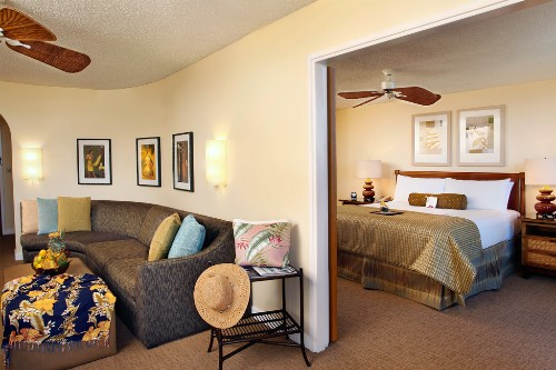 One bedroom suite at The Fairmont Kea Lani Maui.
