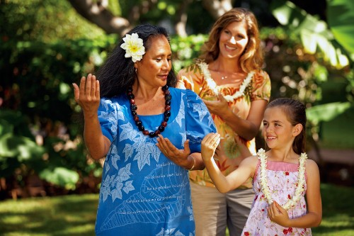 Ka'anapali Beach Hotel offers a number of cultural Hawaiian classes, including Hula dancing lessons.