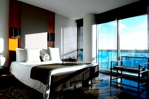 Ocean-view 2-bedroom site at The Setai, Miami.