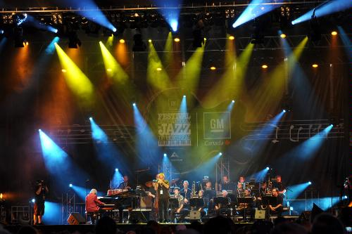 A performance at the Montreal Jazz Festival.