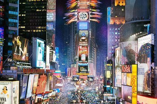 New Year's Eve in New York City's Times Square