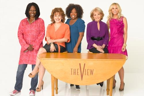 "The cast of ABC's daytime talk show ""The View."" Bob D'Amico/ABC"