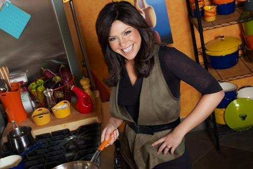 "Rachael Ray on the set of ""The Rachael Ray Show."""