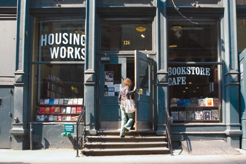 Bookstore Café at Housing Works. Photo courtesy Housing Works, Inc.