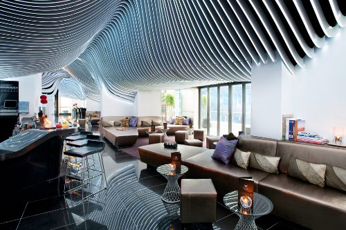 New york city 39 s best hotel rooftop bars - The living room lounge houston tx ...