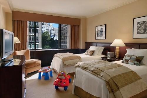 Two Bedroom Suite At The Loews Regency, New York City.