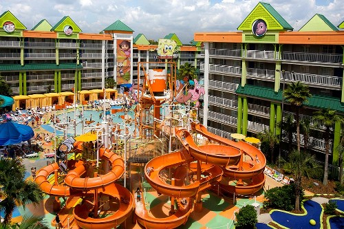 Water Park And Pools At The Nickelodeon Family Suites Resort Orlando