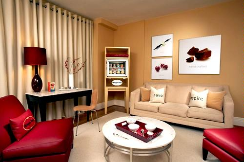 The Haagen-Dazs Suite at the Triton, San Francisco.