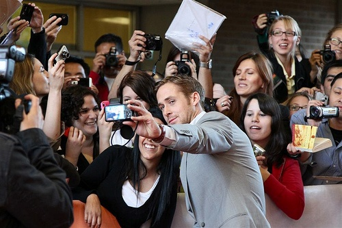 "Actor Ryan Gosling at the ""Blue Valentine"" premiere during Toronto International Film Festival."