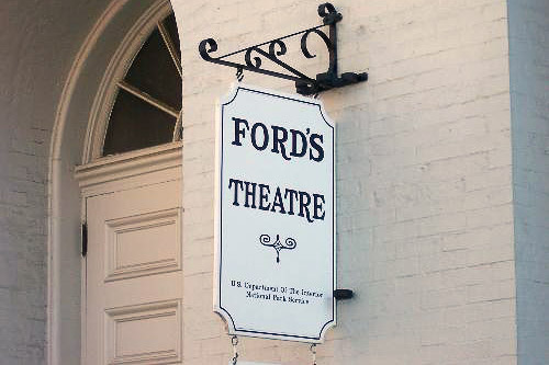 Historic Ford's Theatre, where Abraham Lincoln was assassinated by John Wilkes Booth