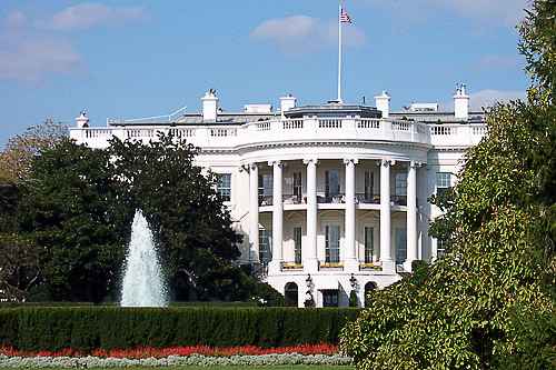 The White House, home of the President of the U.S.A.