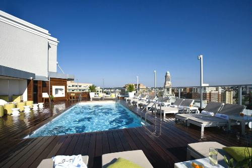 The Donovan House Rooftop Pool, Washington, D.C.. Kimpton Hotels