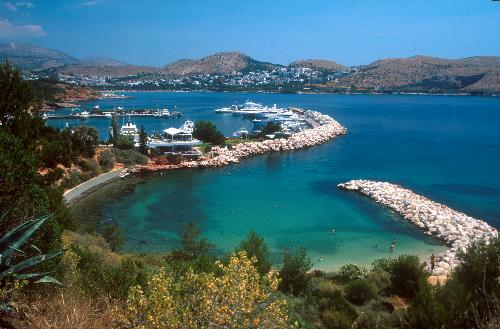 Marina at Vouliagmeni, a picturesque peninsula, situated on the eastern edge of Athens
